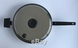 ROYAL PRESTIGE 7PLY SS TITANIUM 10 SAUCE PAN SKILLET WithLID & SS EGG POACH TRAY