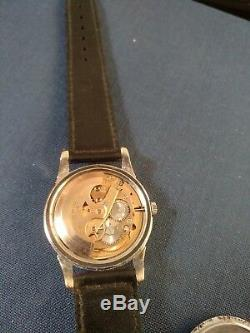 Rare Omega Constellation cal564 solid gold/Stainless case Pie Pan Dial Watch