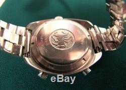 Rare Original Hamilton Chronomatic Pan-Europ 703 Chronograph withStainless Band