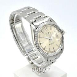 Rolex Datejust 1603 Year 1968 Case 36 Mm. Pie Pan Dial