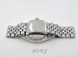 Rolex Datejust 36 MM 1601 Year 1964 Pie Pan Dial. Two Tones, Steel Bracelet