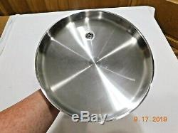 SALADMASTER 7817 11 Electric Skillet Fry Pan Stainless Steel EXTRA MINTY