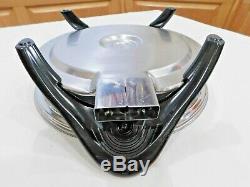 Saladmaster 12 Electric Skillet Fry Pan 316Ti TITANIUM STAINLESS Liquid Core