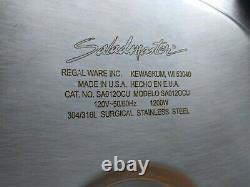 Saladmaster 304/316L Surgical 12 Electric Skillet Roasting Pan Buffet Server