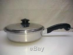 Saladmaster Family Everyday 11 Skillet Stir Fry Saute Sauce Pan Lid