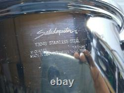 Saladmaster T304S Surgical Stainless 10 Qt Stockpot Dutch Oven Roasting pan Lid