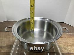 Saladmaster Versa Tec 1 Quart TP304-316 Surgical Stainless Steel Sauce Pan