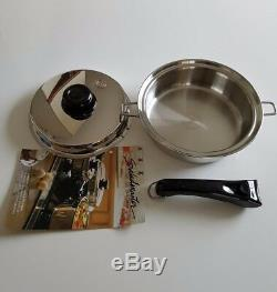 Saladmaster-t304-316l-surgical Stainless-steel-waterless-pan
