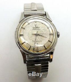 Scarce 1959 Omega Constellation Pie Pan Automatic Men's Wrist Watch Ref. 14381