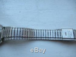 Seiko Pan-am A358-5000 Gmt World Time LCD Digital August 1979 Rare Find Workiing
