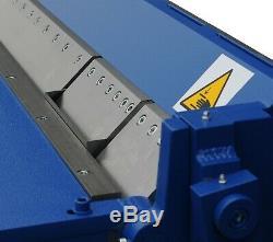 Sheet Metal Box & Pan Folder Bender Bending Machine 1270mm (50) / 2.0mm