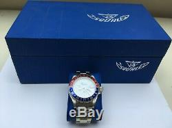 Squale Pan-Am Automatic Watch Pepsi Bezel GMT 300 Metres