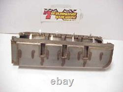 Stainless Steel Dry Sump SB Chevy Oil Pan with Oiler Jets from a SB2.2 NASCAR