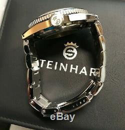 Steinhart Ocean 1 Vintage Dual Time Premium Pan Am Watch