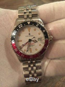 Steinhart Pan Am GMT Boutique Edition (black and red bezel)