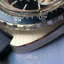 Super Mint Vintage Hamilton Pan Europ 703 Chrono Matic Chronograph Cal 11 #70s
