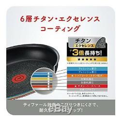 T-FAL Pan 9 pcs set detachable handle Ingenio Neo IH Stainless steel