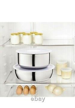 Tefal Emotion INOX Induction Pan Set Saucepan Set Cookware Set Pot All Hobs