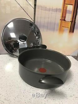 Tefal Heavy Duty Non Stick 28cm Saute Pan Induction With Lid, RRP £59.99