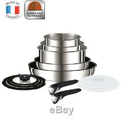 Tefal Ingenio 13pc Stainless Steel Stackable Set Pan/Frypan/Pot/Oven/Induction