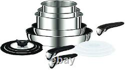 Tefal Ingenio Stainless Steel Induction 14 Piece Pan Set