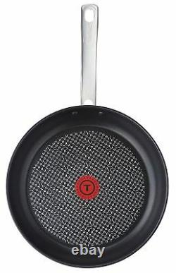 Tefal Intuition Stainless Steel Induction Frypan 20/24/28/30cm Non-Stick Fry Pan