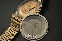 UNIQUE OMEGA CONSTELLATION PIE PAN SS/GOLD NEAR MINT 100% ORIGINAL withBOX c. 1966