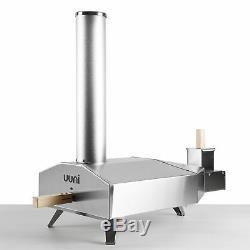 Uuni 3 Pizza Oven Full Monty Bundle 10kg Pellets, Lighter, Sizzler Pan, Cover