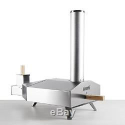 Uuni 3 Wood Fired Pizza Oven SIZZLER BUNDLE oven, peel cover, pellets, sizzler pan
