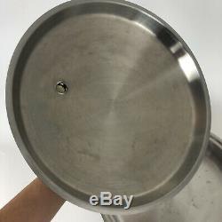 VERY NICE SALADMASTER 7252 Stainless Steel Liquid Core Skillet withVapo Lid
