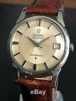 Very Nice Vintage 1962 Omega Constellation Pie Pan 14393.61sc Automatic Cal. 561