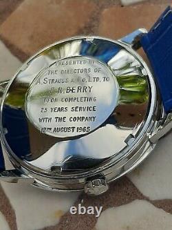 Very Rare Hamilton Pan europ Automatic Wristwatch. (Presentation Watch)