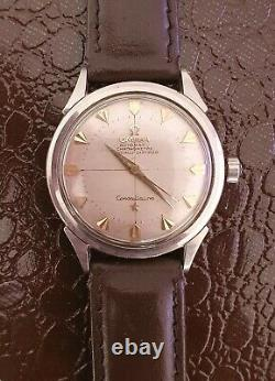 Vintage 1950's Omega Constellation 2782 Cal 354, Pie-Pan Dial, Arrowhead Markers