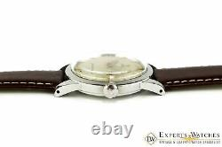 Vintage 1953 Omega SeaMaster Pie Pan Watch With Box & Papers Automatic Cal 351