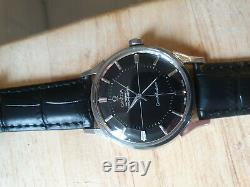 Vintage 1962 Omega Constellation Pie Pan Chronometer Auto Serviced Warranty