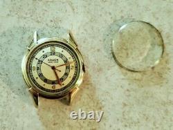 Vintage Gruen Veri Thin Pan American 420SS 534 Pilot 1940s Mens Watch 10K GF