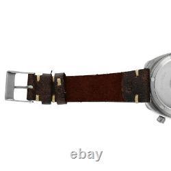 Vintage Hamilton Pan Europe 703 ChronoMatic 1970's Leather Automatic Wrist Watch