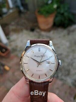 Vintage IWC Calibre 8531 Pie Pan dial