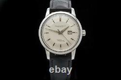 Vintage IWC Ingenieur 666Ad Men's Wrist Watch 1960's Pie Pan Dial