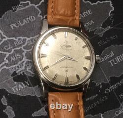 Vintage OMEGA Constellation Gents Pie Pan Dial Watch c1959 Cal 551 Model 14381