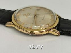 Vintage OMEGA Geneve Automatic Pie Pan 14703 SC 61 Cal 562 Gold Plated 34 mm