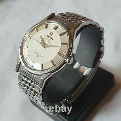 Vintage Omega Constellation Cal. 551 Pie Pan Silver Dial Automatic Men's Watch