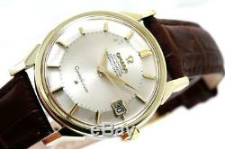 Vintage Omega Constellation Chronometer Pie-Pan Dial Gold Capped Stainless Steel