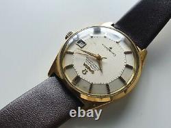 Vintage Omega Constellation Pie Pan 34mm Automatic Chronometer Swiss 168.025