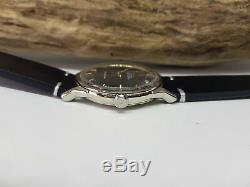 Vintage Omega Constellation Pie Pan Black Dial Automatic Man's Watch