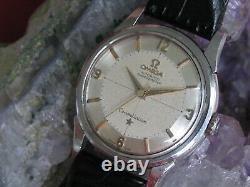 Vintage Omega Constellation Pie Pan Chronometer Stainless Automatic Wrist Watch