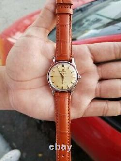 Vintage Omega constellation Pie Pan Cal 551 Ref 167-005 Watch CW