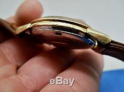 Vintage Rare Omega Pie Pan Constellation Gold Cap 168.005 Men's Wristwatch