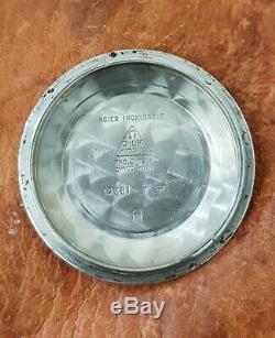 Vintage omega constellation pie pan 14381