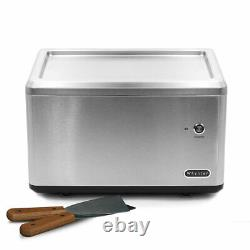 Whynter ICR-300SS Portable Instant Automatic Ice Cream Maker Frozen Pan Roller